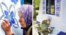 90 Year Old Czech Grandma Transforms a Village Into An Art Gallery.