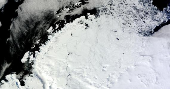 A Giant, Mysterious Hole Appeared in the Marine Glaciers of Antarctica.