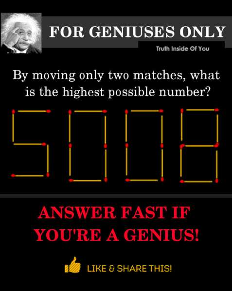 what is the highest possible number