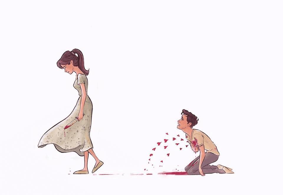 Amazing Illustrations Capture All The Joyful And Sad Moments Of Relationships 12