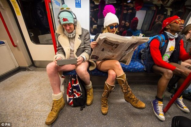 No pants Subway Ride-15