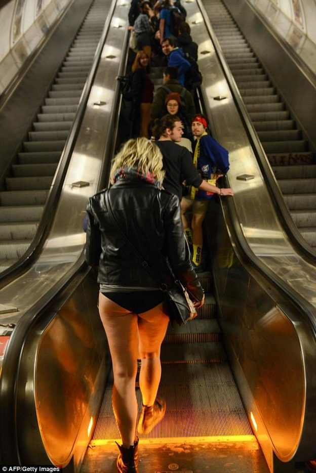No pants Subway Ride-9