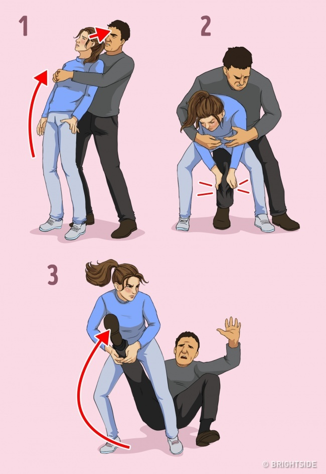 7 Self-Defense Techniques For Women Recommended By A Professional 6