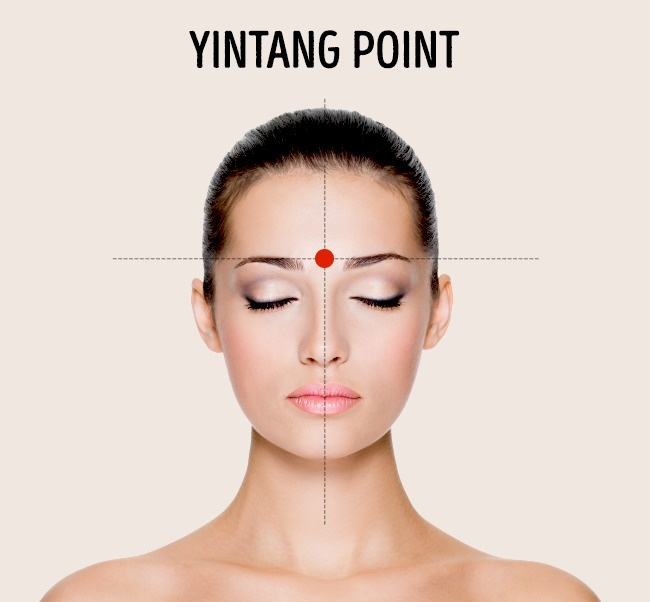 yintang point