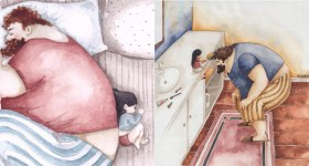 16 Illustrations Showing How Adorable Men Can Be When They Have a Daughter