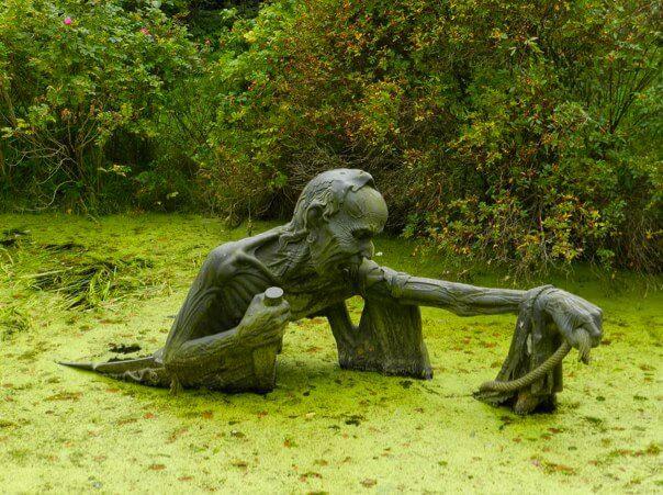 25. Swamp Sculpture, Eastern Ireland.