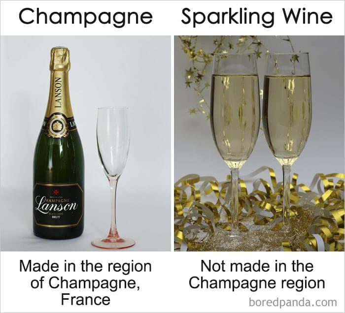 22. Champagne vs Sparkling Wine