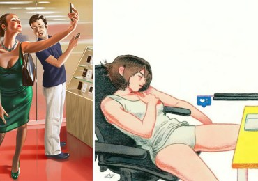 30+ Illustrations Capturing The Reality Of Our Modern Society