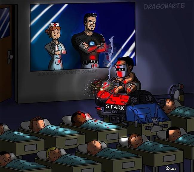 9. Iron Man