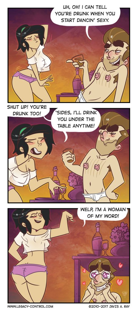 Artist Illustrates Private Life With His Wife And It's Way Too Hilarious-34