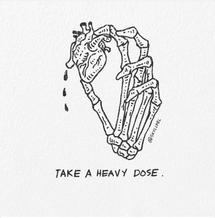 Artist's Skeletal Illustrations Show The Glimpse Of Intense Love With Beautiful Messages-23