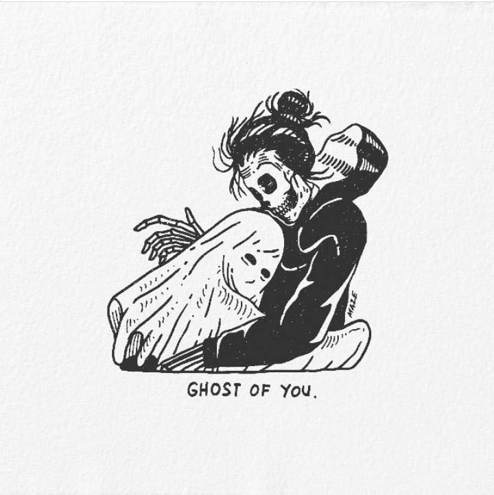 Artist's Skeletal Illustrations Show The Glimpse Of Intense Love With Beautiful Messages-28