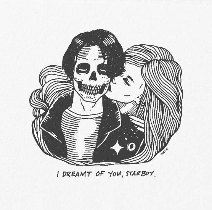 Artist's Skeletal Illustrations Show The Glimpse Of Intense Love With Beautiful Messages-36