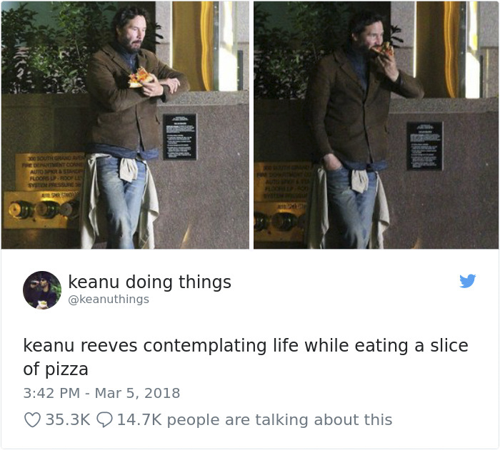 We Couldn't Stop Laughing When We Saw These 26 Hilarious Pictures Of Keanu Reeves (13)