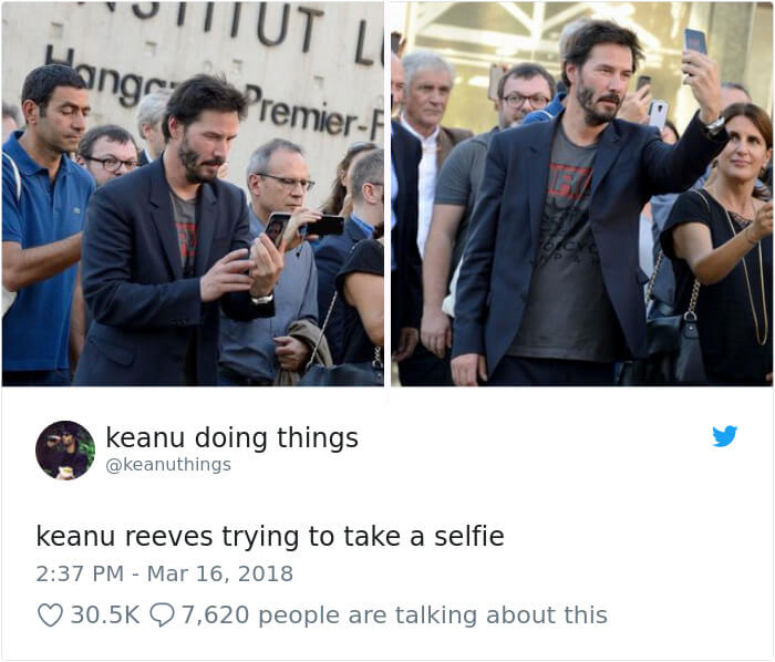 We Couldn't Stop Laughing When We Saw These 26 Hilarious Pictures Of Keanu Reeves (15)