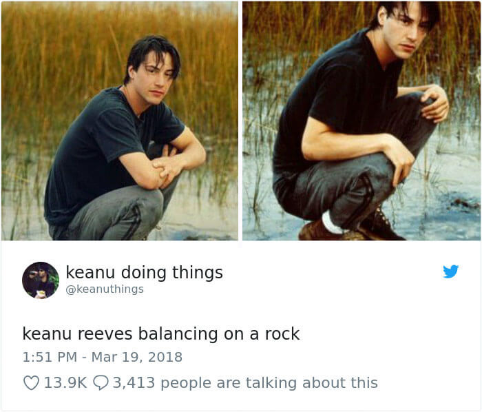 We Couldn't Stop Laughing When We Saw These 26 Hilarious Pictures Of Keanu Reeves (19)