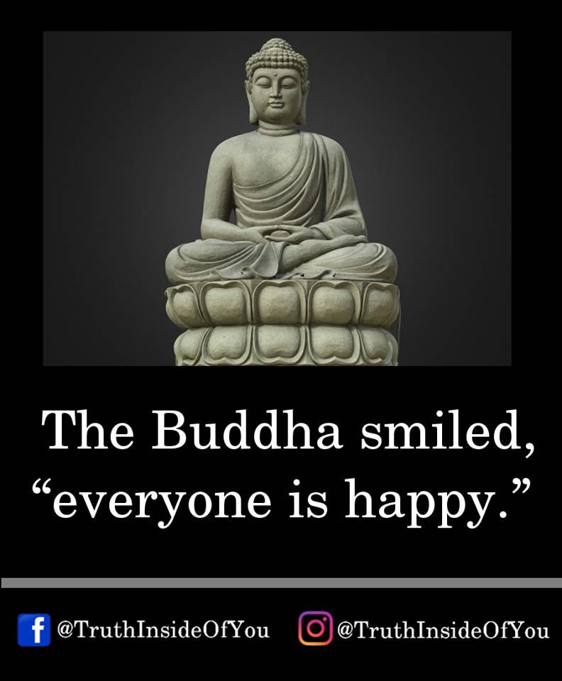 13. the buddha smiled