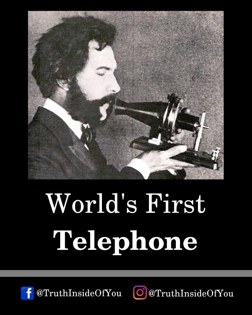 19. World's First Telephone