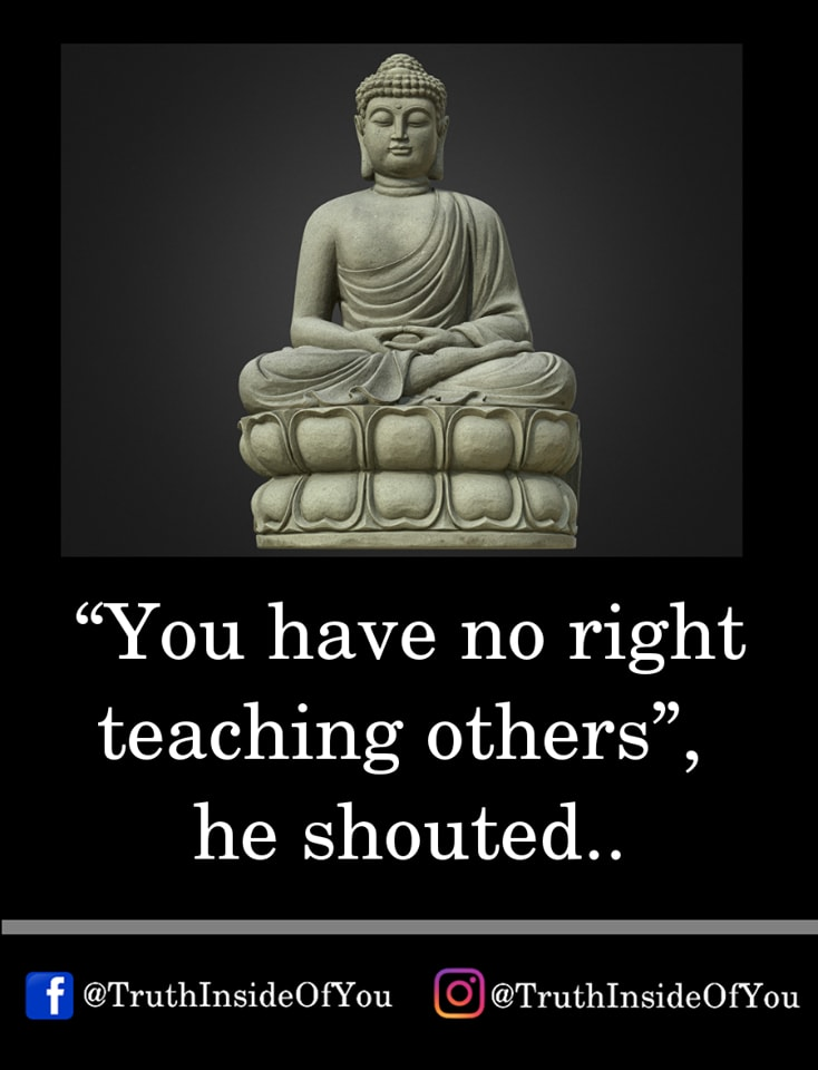 5. Buddha was not upset by these insults