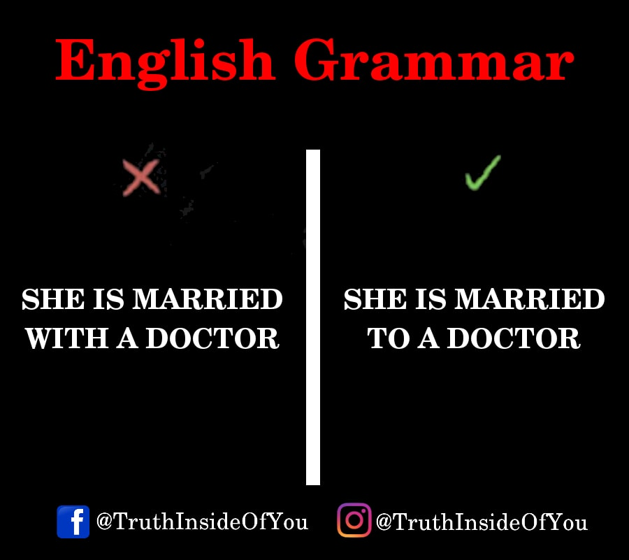 SHE IS MARRIED TO A DOCTOR