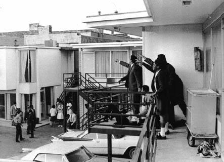 The murder of MLK, Lorraine motel, Memphis