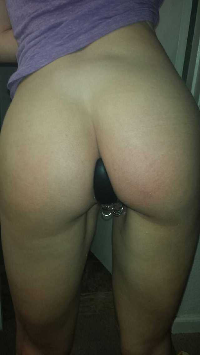 Butt Plug In Public