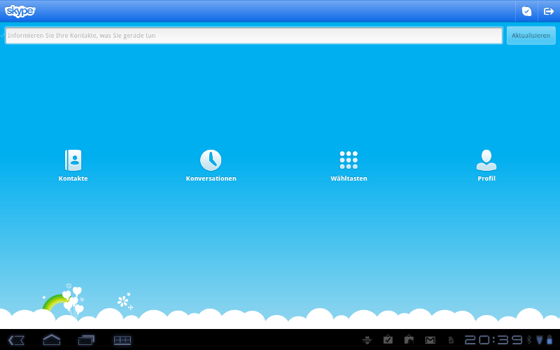 Skype Android Tablets, Skype for Samsung, Skype for Tablets