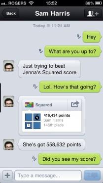 Kik Conversation Screenshot
