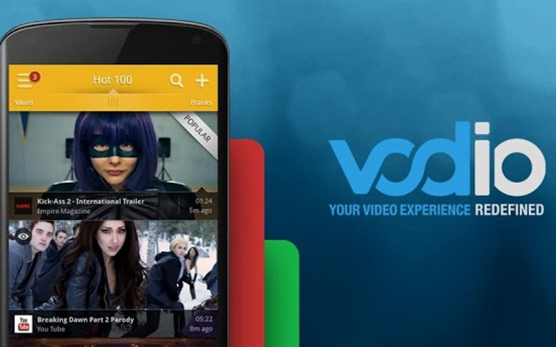 Vodio, Video Apps, Android