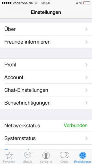 iOS 7 icons, iPhone 5S apps, WhatsApp