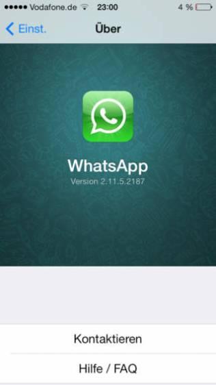 WhatsApp logo iOS 7, WhatsApp Messenger, iOS 7 apps