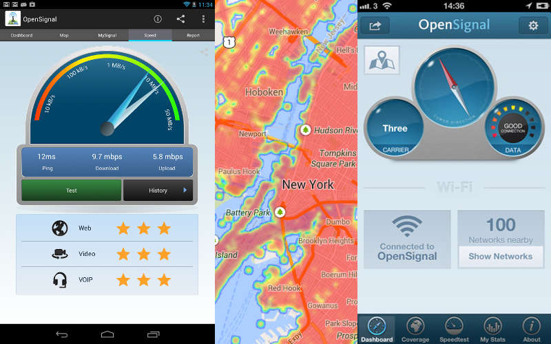 OpenSignal, Download OpenSignal, Accurate Coverage Maps