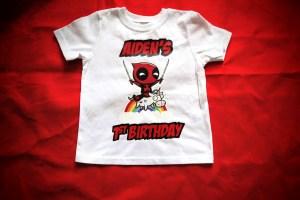 Deadpool Birthday Shirt