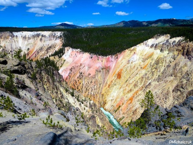 Grand Canyon of the Yellowstone, Yellowstone National Park, WY