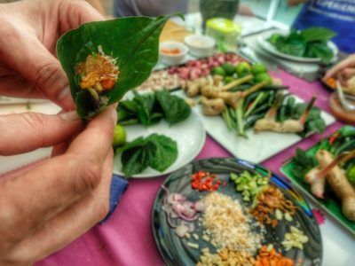 Cooking class in Bangkok – Colorful Culinary experience at a flower market