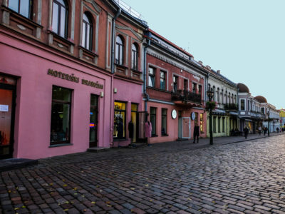 General information about Kaunas, Lithuania