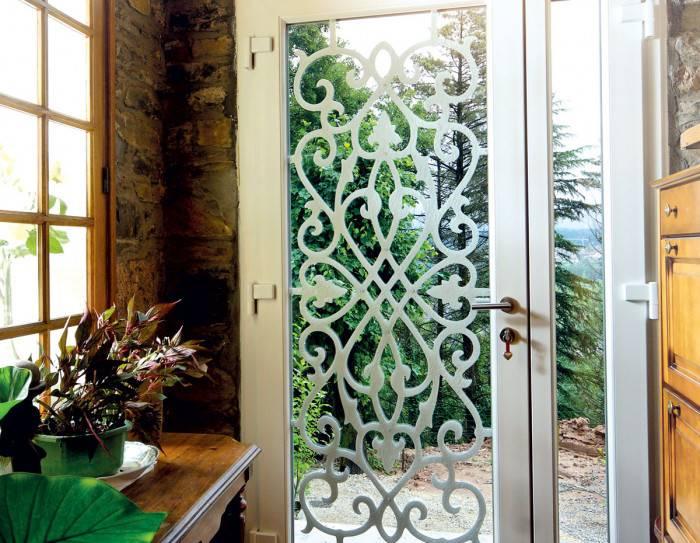 porte d entree tryba vitree isolante