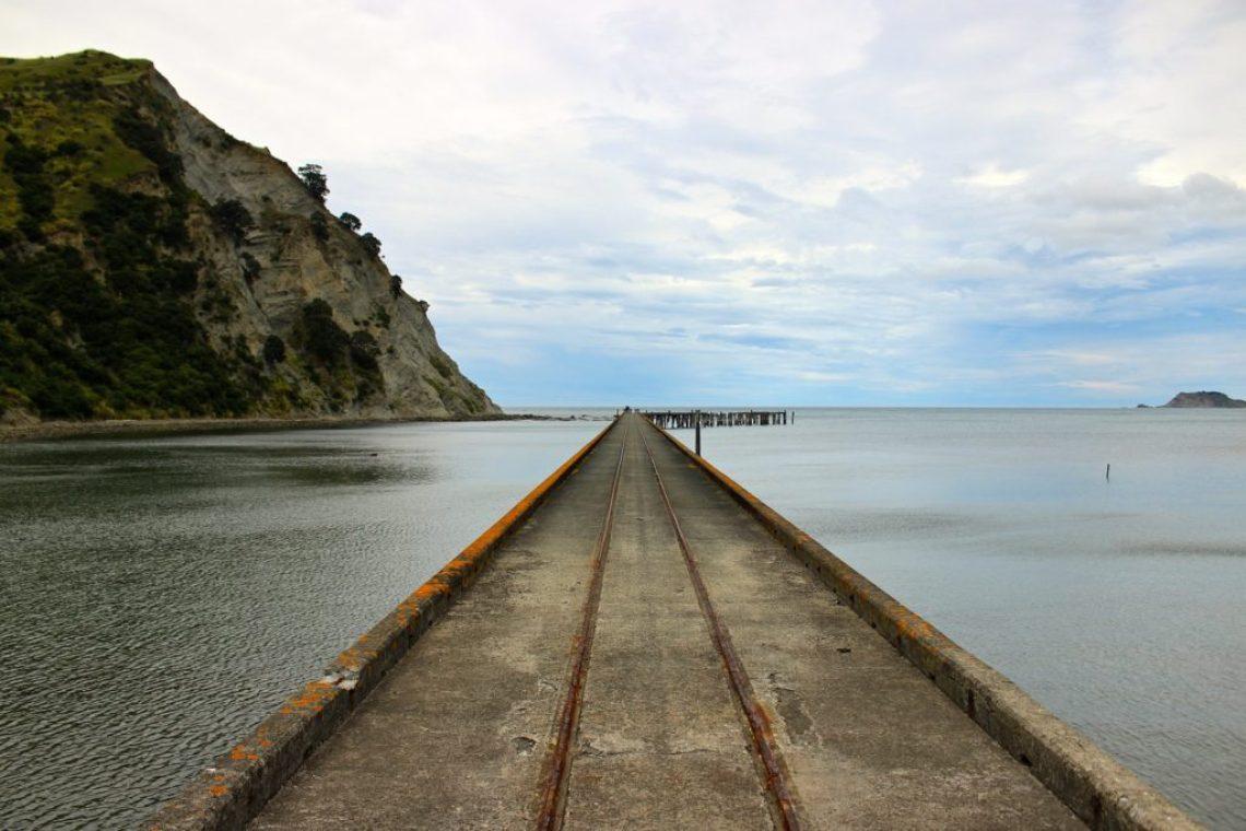 okomaru Wharf New Zealand