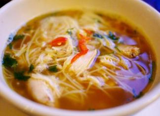 ExpressChicken Noodle Soup