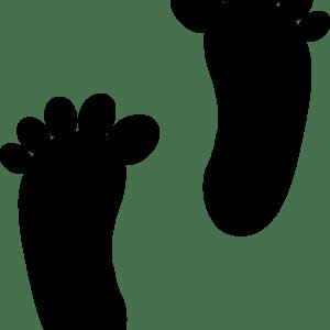Fødder på gulvet - 5 par