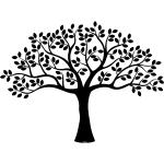 Gigant træ på væggen