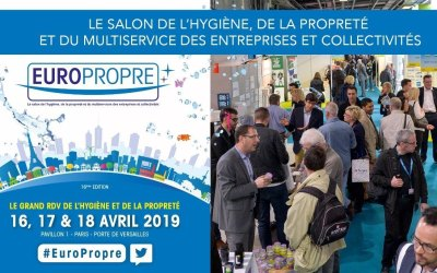 Trynet participera au Salon EUROPROPRE du 16 au 18 avril 2019