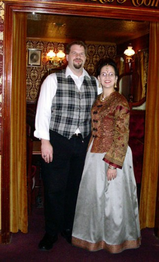 Mr. Phileas Fogg and his Indian bride