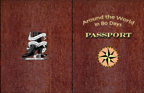 Each attendee will get a passport