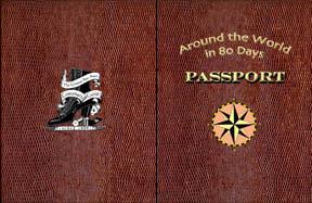 Each attendee will get a passport