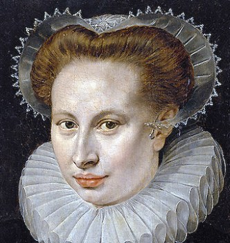 1580 - Unknown lady by Frans Pourbus the Older (image source: Wikimedia Commons)