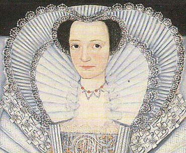 1600 - One of the Cholmondeley Sisters (image source: elizabethan-portraits.com)