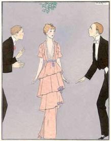 Le Gazette du Bon Ton, January 1914, New Year's Eve gown (image source: costumes.org)