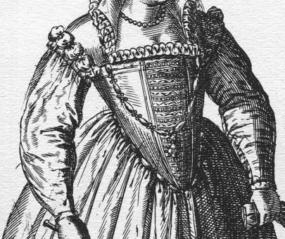 1581 - Venetian woman by Abraham de Bruyn