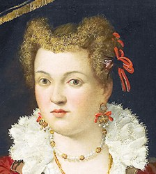 1565 portrait by Francesco Montemezzano